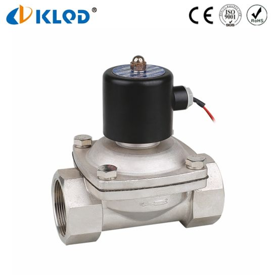 2wb500-50 Stainless Steel Water Solenoid Valve Electric 2 Way pictures & photos
