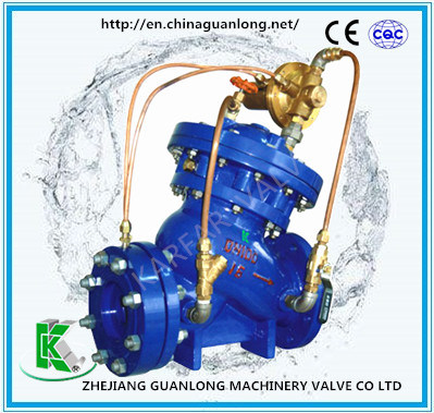 Automatic Constant Downstream Pressure Flow Control Valve (GL715X) pictures & photos