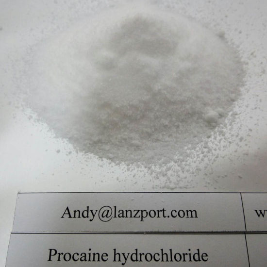 Procaine HCl Safely Pass Customs Anesthetic Drug Procaine Hydrochloride pictures & photos