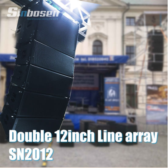 Double 12 Inch Line Array System Sn2012 Professional Audio Line Array