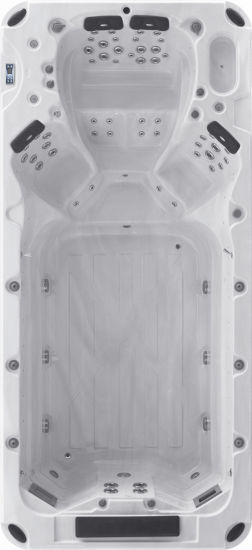 SPA Series Swimming Pool Massage Bathtub M-3370 pictures & photos