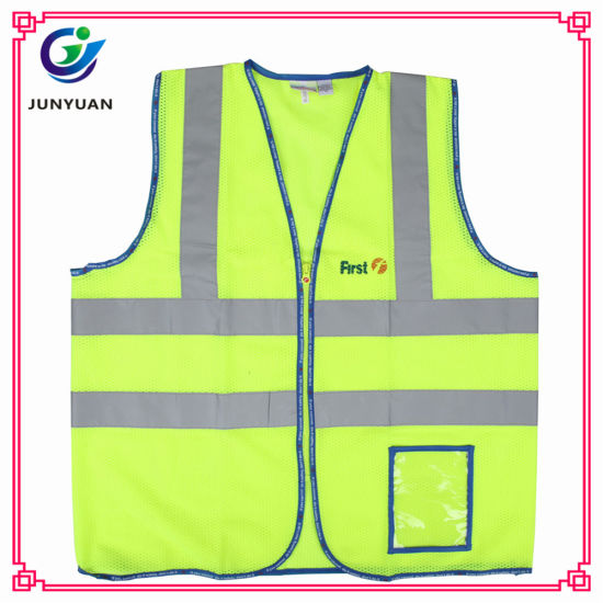 High Visibility 100% Polyester Protective Vest Clothes Productd