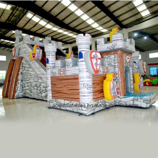 Inflatable Fortress Slide (AQ01411) pictures & photos