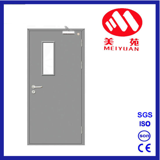 China Fire Glass Door China Steel Security Doors Security Door