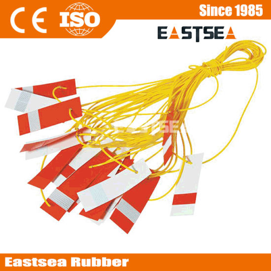 Yellow 25meter Reflective Bunting Line pictures & photos