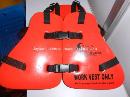 Marine Work Vest Lifejackets Solas Standard with Good Price