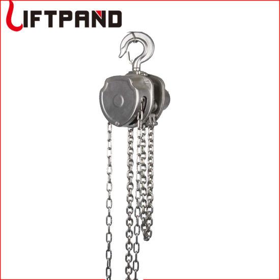 304 Stainless Steel Hand Chain Hoist Chain Block