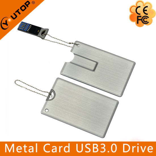 Custom Logo Credit Card USB3.0 Flash Memory (YT-3101-3.0) pictures & photos