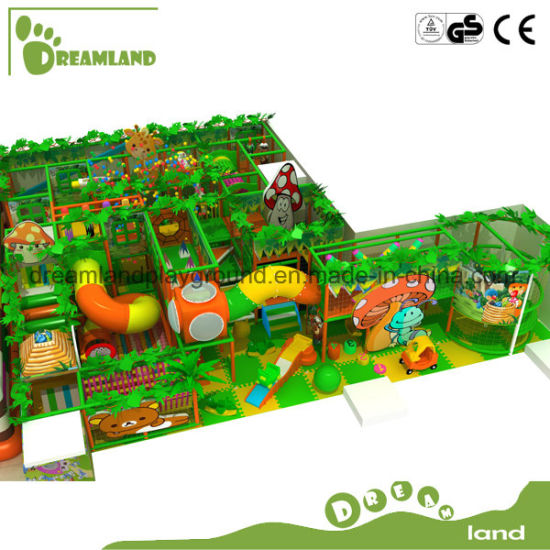 Best Quality & Design for Kids Indoor Playground Equipment Jungle Theme Gym pictures & photos
