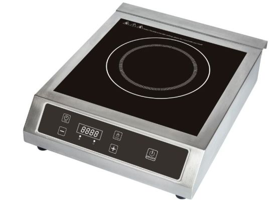 3500W stainless steel restaurant use commercial induction stove