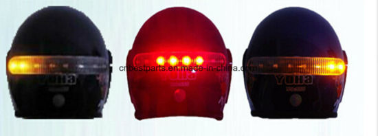 Smart Helmet Light Battery Type Wireless Turning Light Wireless Braking Light pictures & photos