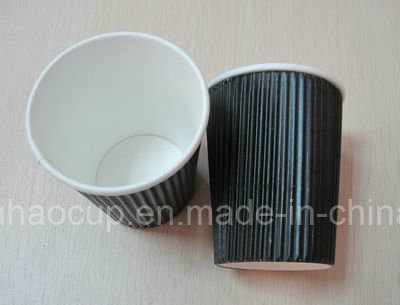 8oz 12oz 16oz Take Away Disposable Ripple Wall Coffee Paper Cups pictures & photos