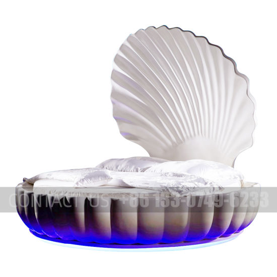 Direct Deal Deep-Sea Shell Bed Sex Bed for Hotel Use and Provate