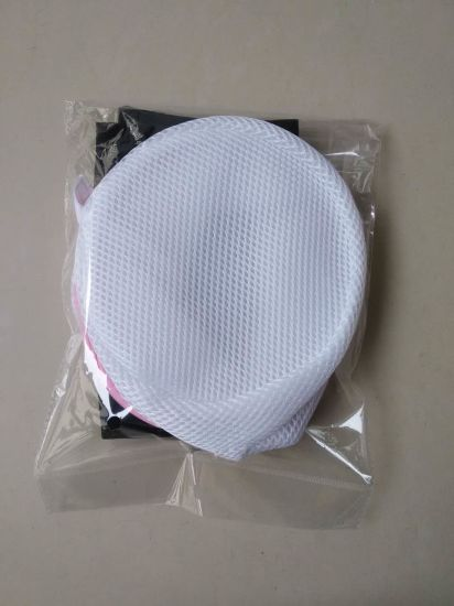 Professional White Polyester Mesh Net Laundry Washing Bag pictures & photos