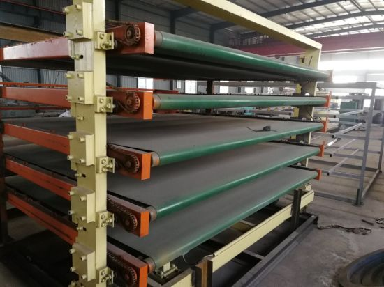 Hot Press Melamine Plywood Laminating Machine pictures & photos