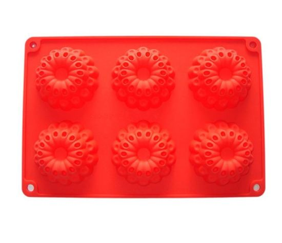 China Wholesale Silicone Sculpted Flower Lace Cake Mould