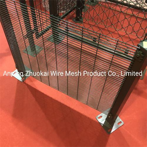 Wholesale Pirce Galvanized Anti Climb 358 Security Wire Mesh Fence