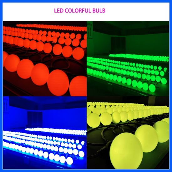 Club Night DMX 512 Pixel LED Ball Bulb Lighting pictures & photos