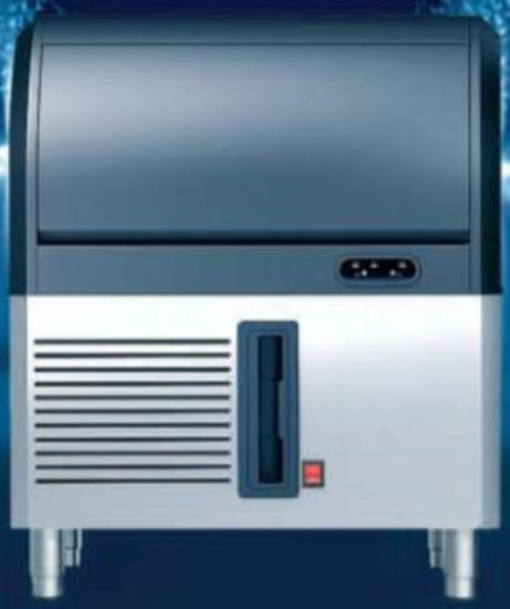 90kg/90d Factory Supermarket Wholesale Retail Ice Maker for Restaurant Club