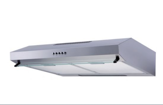 European Style Kitchen Super Push Button Slimrange Hood Cooker Hood pictures & photos