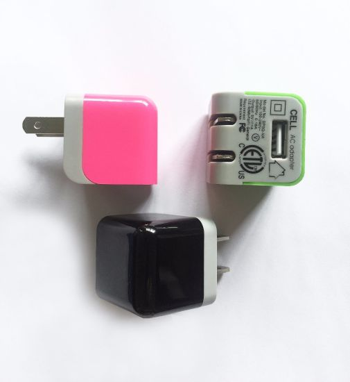 5V 2.1A High Quality Mobile Phone Wall Home Travel Charger pictures & photos