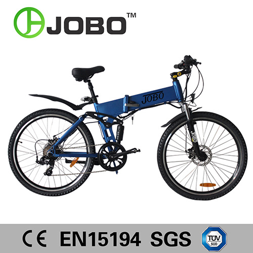 26 Inch Electric Folding Mountain Bike with Hidden Battery Jb-Tde26z pictures & photos