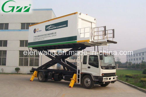 Aircraft Aviation Airport Catering Truck with Refrigerated Box