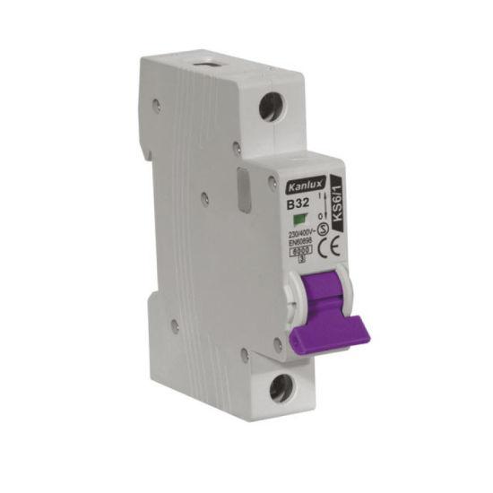 Miniature Circuit Breaker Mini Circuit Breaker MCB Kema