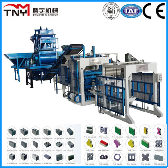 Simple Automatic Block Production Line (QT3-15/QT4-15/QT6-15) pictures & photos