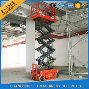 8m Electrical System Scissor Lift/Battery Power Scissor Lift pictures & photos