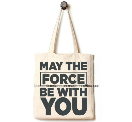 3c8245bcc OEM Produce Customized Logo Printed Duty Natural Canvas Tote Beach Shopper  Bag pictures & photos