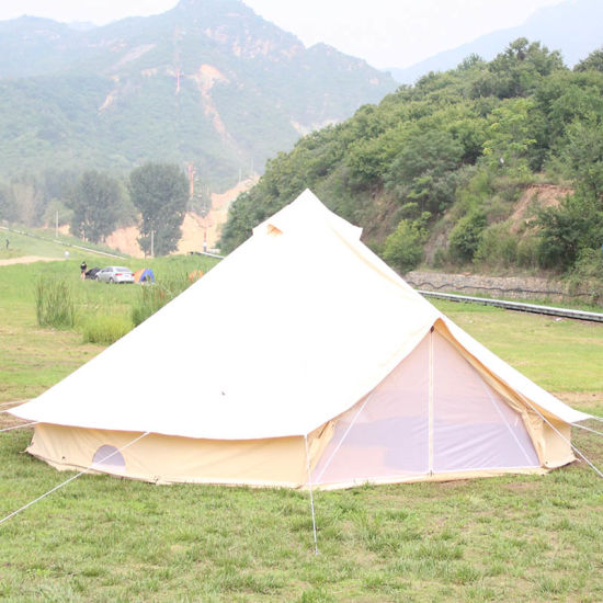 3m 4m 5m 6m Waterproof Cotton Canvas Family C&ing Bell Tent with Hole for Stove Pipe & China 3m 4m 5m 6m Waterproof Cotton Canvas Family Camping Bell ...