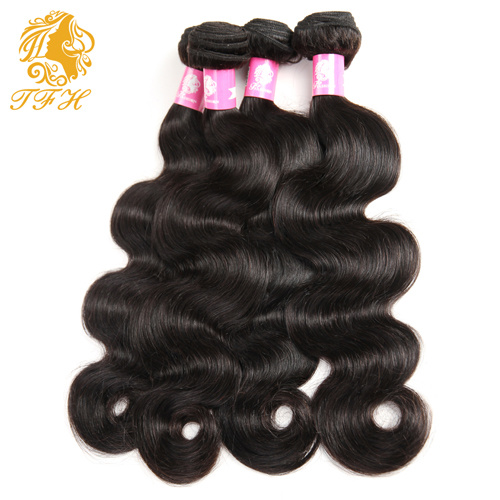 100% Unprocessed Brazilian Virgin Hair Body Wave Natural Color pictures & photos