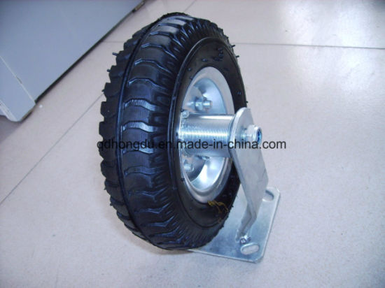Heavy Duty Solid Rubber Wheel Castor pictures & photos