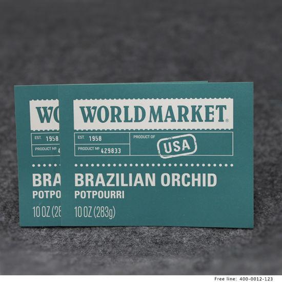 Custom Adhesive Paper Sticker