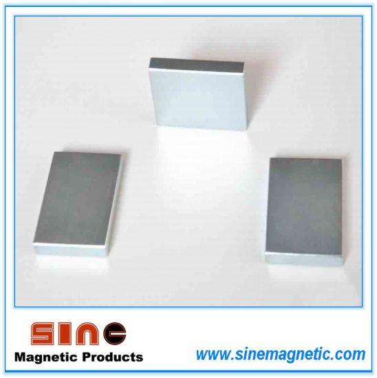 Block Neodymium Magnet with Hole (N35H /N30M/ N45H etc)