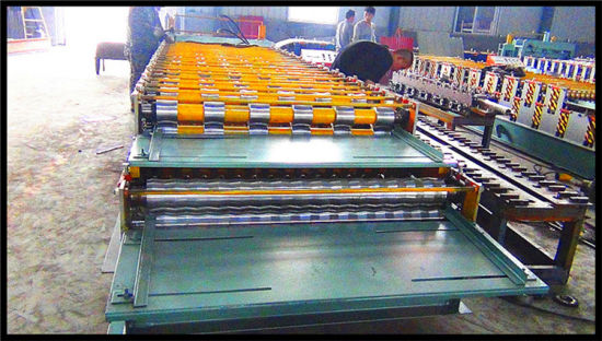 Hot Sale Dual Layer Roof Tile Roll Forming Machine with Discount Prices pictures & photos