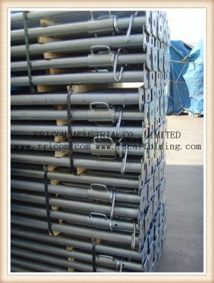 Glavanized Adjustable Shoring Prop Scaffolding Prop Steel Prop for Building Construction pictures & photos
