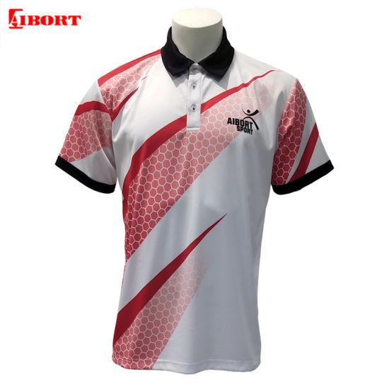 Aibort 2020 Sublimation Custom 100% Polyester Polo T Shirt (Polo-30)