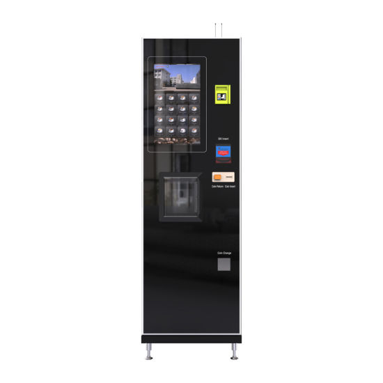 Automatically Bean to Cup Espresso Coffee Vending Machine