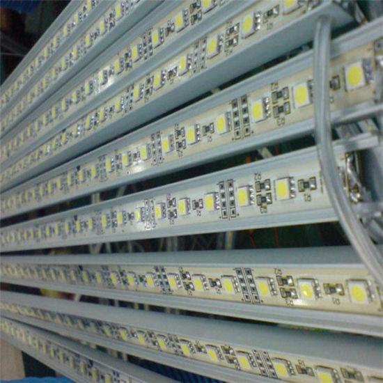 Aluminum Housing 12VDC SMD 5050 LED Rigid Strip Bar Light