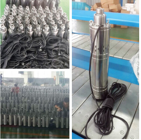 Stainless Steel 4nk Submersible Deep Well Pump 0.75kw/ 1HP pictures & photos