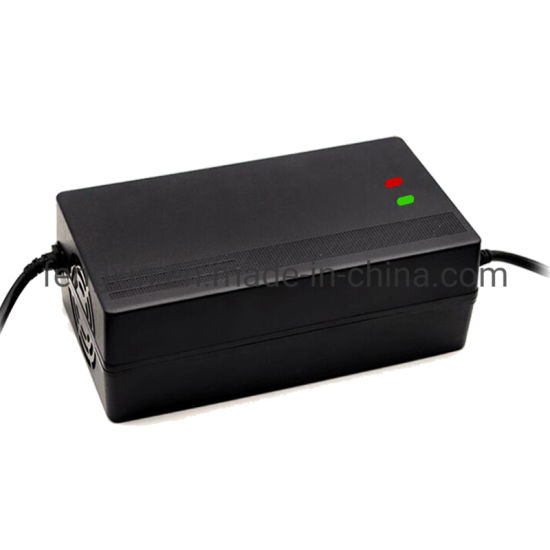 LiFePO4 Battery Charger 72V6A High Frequency Car Battery Charger with Reverse Connect Mec1215