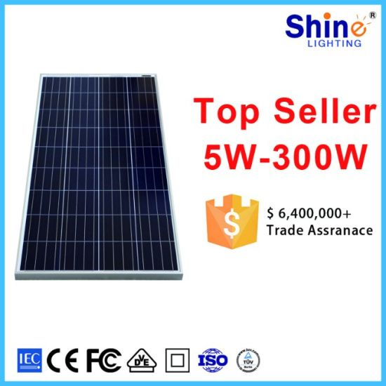 Best Price Solar Energy 150W Poly and Mono Solar Panel pictures & photos
