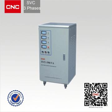SVC Intelligent Voltage Stabilizer (SVC Three phase AC Voltage Stabilizer)