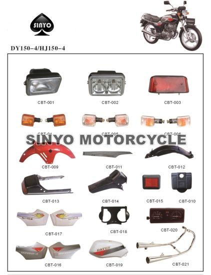 Efficient and Burable Motorcycle Spare Parts pictures & photos