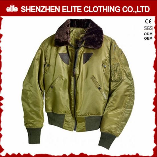 d3bfa4680a7 Winter Warm Jaxket Army Green Bomber Flight Jacket (ELTBJI-50) pictures &  photos