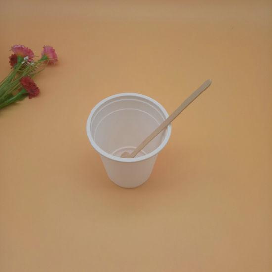 Festival Celebration Disposable Eco-Friendly Birch Wood Flat Wooden Tasting Spoon