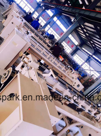 Spark High Speed Water Jet Loom for Weaving Super Light to Super Heavy Fabric with Cam or Dobby Shedding pictures & photos