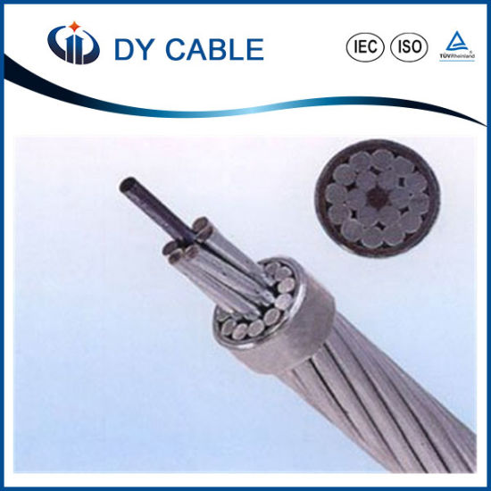 Bare Aluminum Conductor Steel Reinforced Overhead ACSR Cable pictures & photos